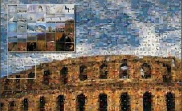 Mosaic Creator photo mosaic sample