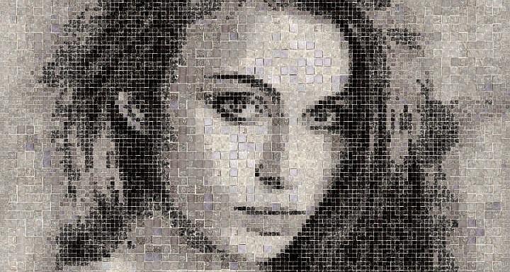 Mosaic tile graphics