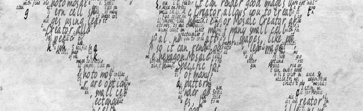 Sample text mosaic created with Mosaic Creator
