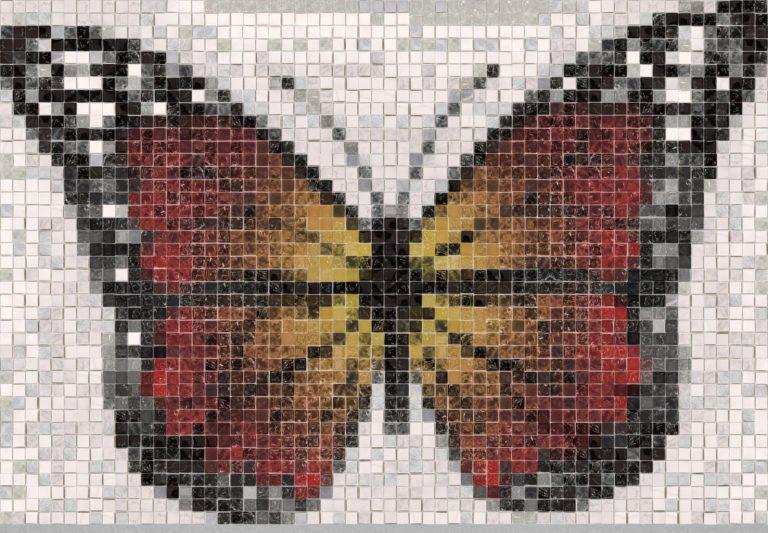 Butterfly mosaic design - Tile mosaic design - Mosaic Creator