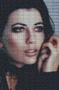 Mosaic Tile Design woman face - Mosaic Creator