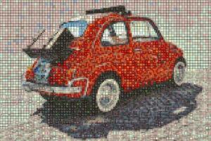 Mosaic Tile Design min car - Mosaic Creator