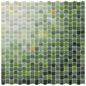 Color gradient tile design