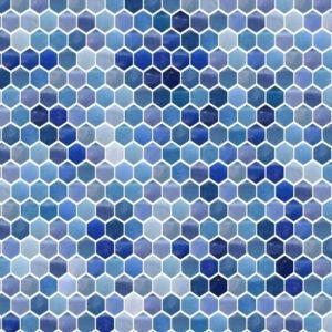 Tile mosaic hexagon pattern - Mosaic Creator