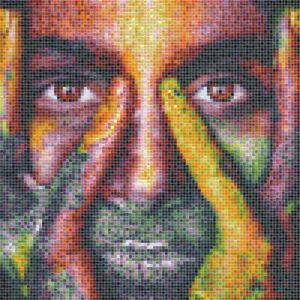 Color face tile mosaic - Mosaic Creator