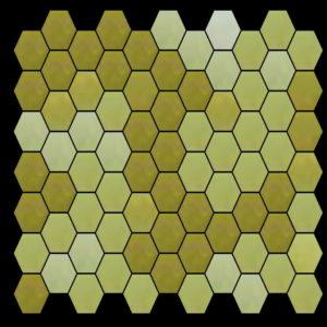 Tile mosaic pattern horizontal hexagon - Mosaic Creator