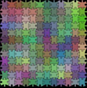 Tile mosaic pattern puzzle - Mosaic Creator