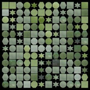 Tile mosaic pattern random shapes - Mosaic Creator