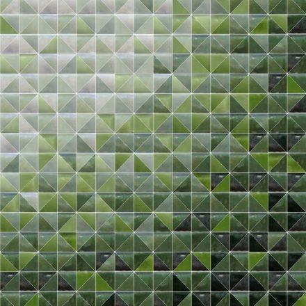 Tile mosaic triangle gradient pattern - Mosaic Creator